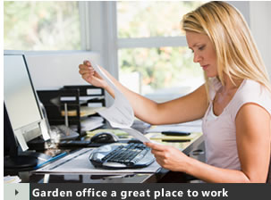 Garden Offices - A great place to work